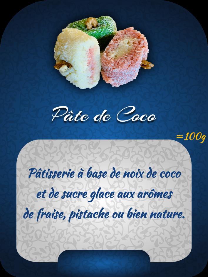 pâte de coco 2